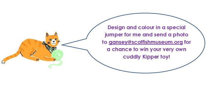 Kipper the Cat's Gansey Comic and Colouring Competition!