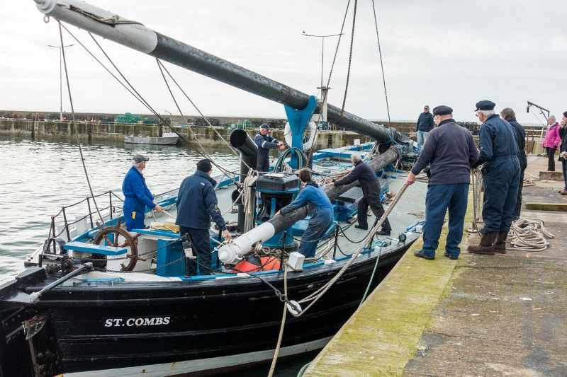 Reaper at Rosyth for restoration