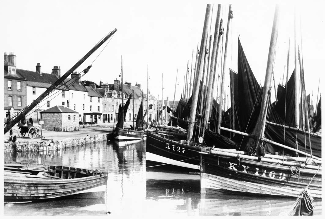 Anstruther Harbour in the C19th