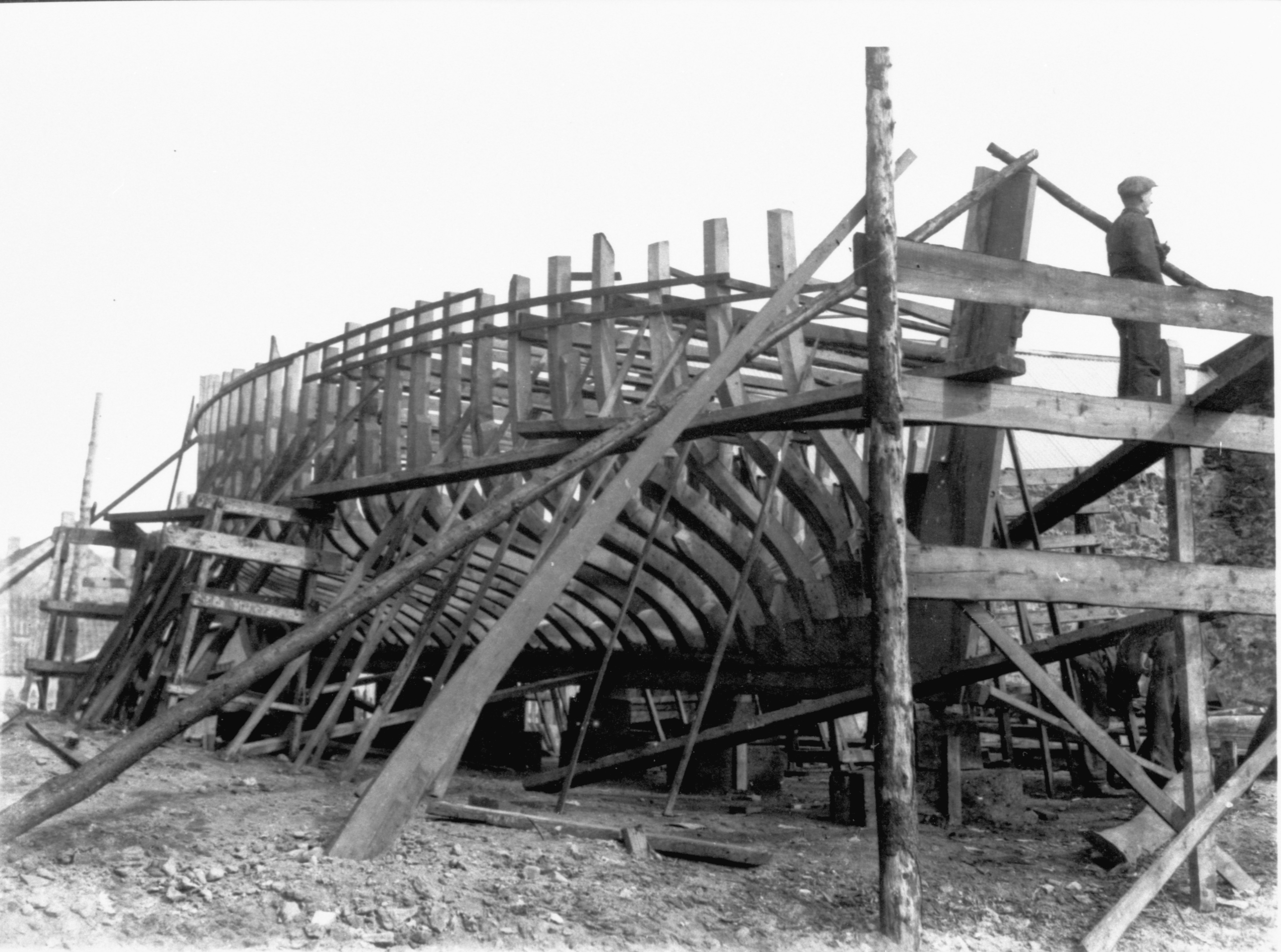 Boat Building in the East Neuk