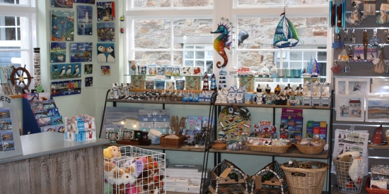 The Museum Shop sells a wide range of items of interest to visitors, including books about the fishing industry and reproductions of historic photographs. The popular Tea Room adjoins the shop.