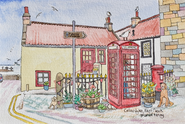 Merchant's Room : Yolande Kenny, East Neuk Life